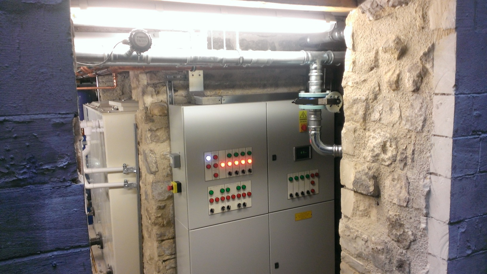 The abbey hotel commercial electrical system