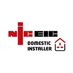 NICEIC logo in red and black new