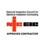 NICEIC logo in red and black