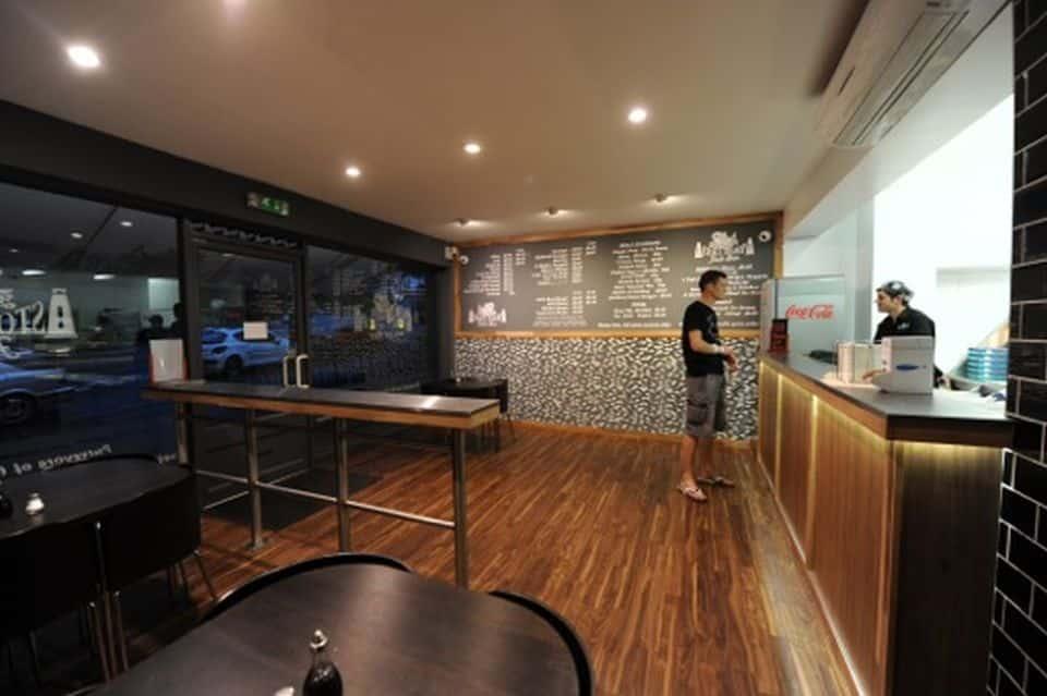 Stoke Bishop & Clifton Fish Bar interior