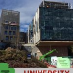 University of Exeter commercial building under construction